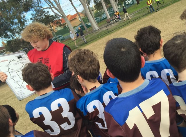 Footy powers new youth mentoring and coaching program