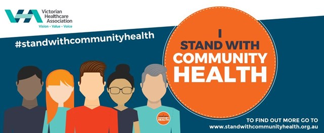 Stand with community health campaign