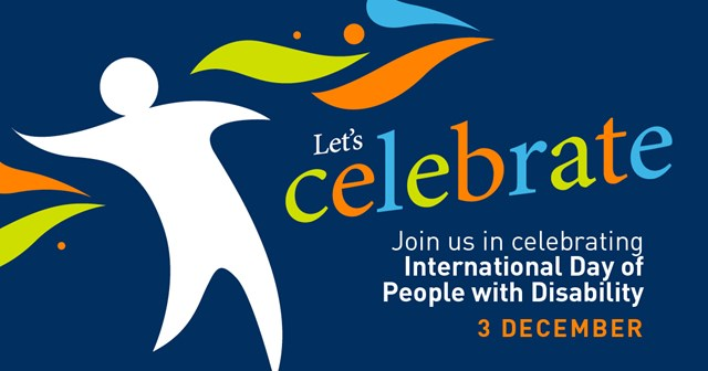 International Day of People with Disability - 3 December