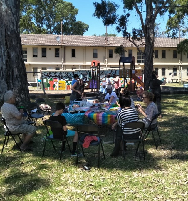 Bluff Rd Estate summer garden fun